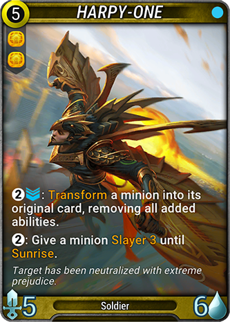 Harpy-One Card Image