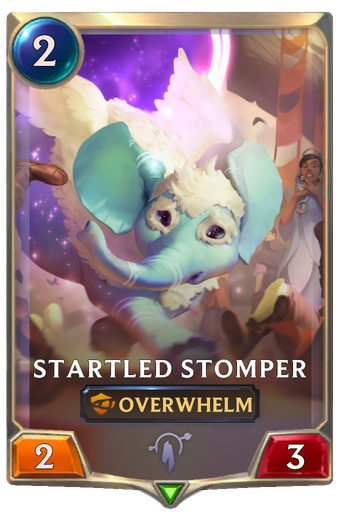 Startled Stomper Card Image
