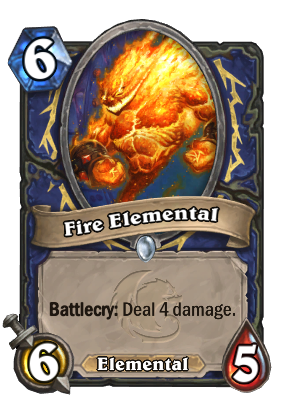 Fire Elemental Card Image