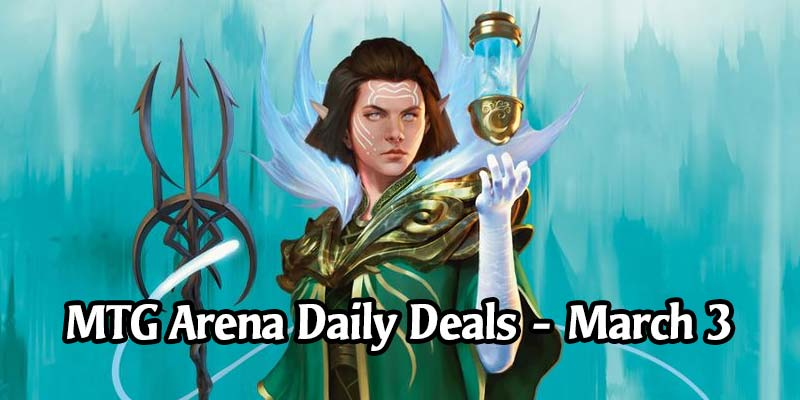 Daily Store Deals in MTG Arena for March 3, 2020 - 88% Discount on Vannifar Character Portrait