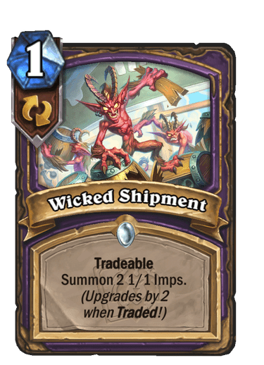 Wicked Shipment Card Image