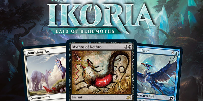 MTG Arena - Ikoria: Lair of Behemoths Card Spoilers April 3