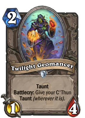 Twilight Geomancer Card Image