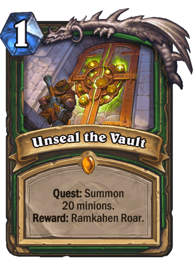 Unseal the Vault Card Image