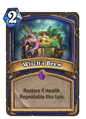 Witch's Brew Card Image