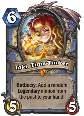 Toki, Time-Tinker Card Image