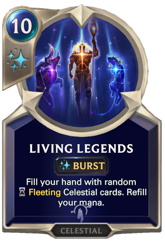 Living Legends Card Image