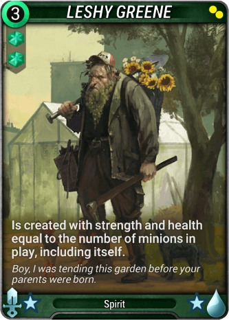 Leshy Greene Card Image