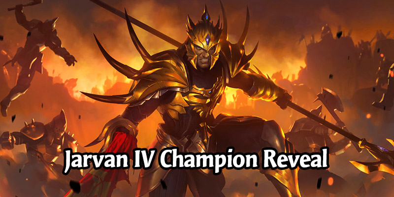 Jarvan IV Champion Revealed for Runeterra's Empires of the Ascended Expansion + New Demacia Cards