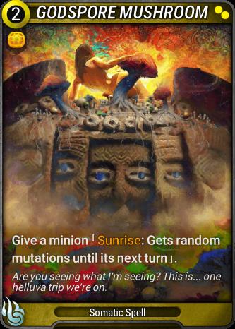 Godspore Mushroom Card Image