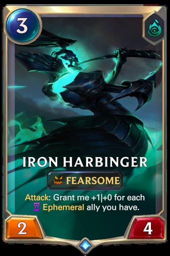 Iron Harbinger Card Image