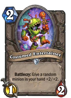 Costumed Entertainer Card Image