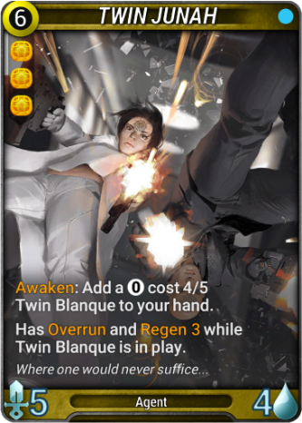Twin Junah Card Image