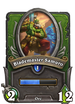 Blademaster Samuro Card Image
