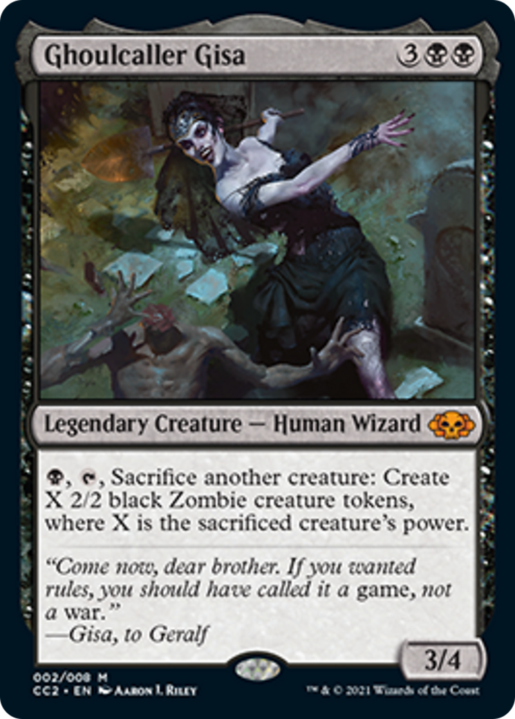 Ghoulcaller Gisa Card Image