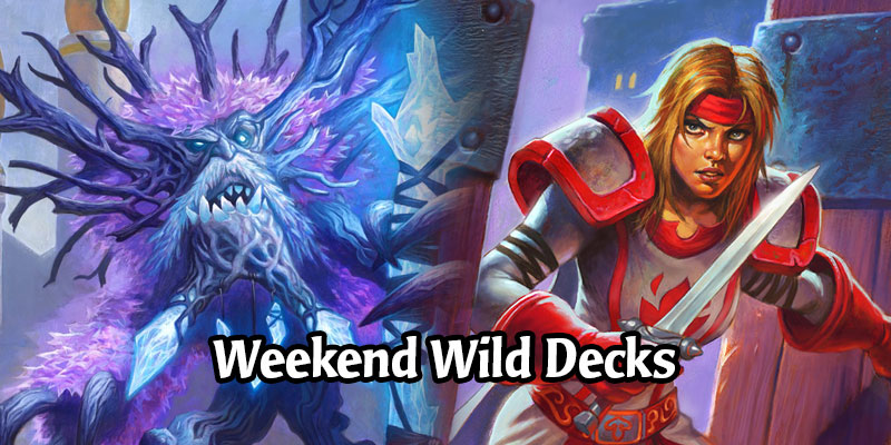 A Wild Hearthstone Weekend Featuring Questing Heal Druid, Stealth Rogue, Combo Priest, and More!