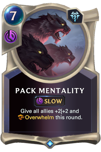 Pack Mentality Card Image