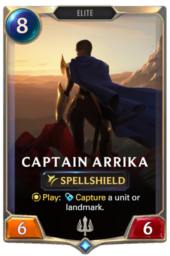 Captain Arrika Card Image