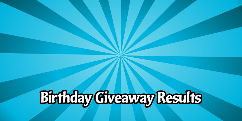 The Birthday Giveaways Full Winners List