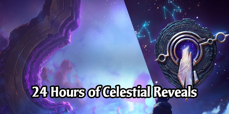 24 Hours of Card Reveals for Legends of Runeterra - The Celestial Cards for the Invoke Mechanic
