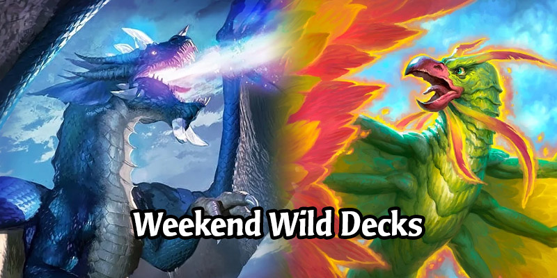 Weekend Wild Hearthstone Decks - Malygos Hunter, Hero Power Mage, Highlander Rogue, and More!