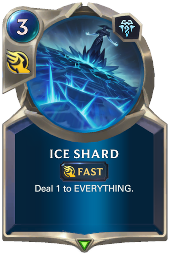 Ice Shard Card Image