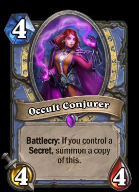 Occult Conjurer Card Image