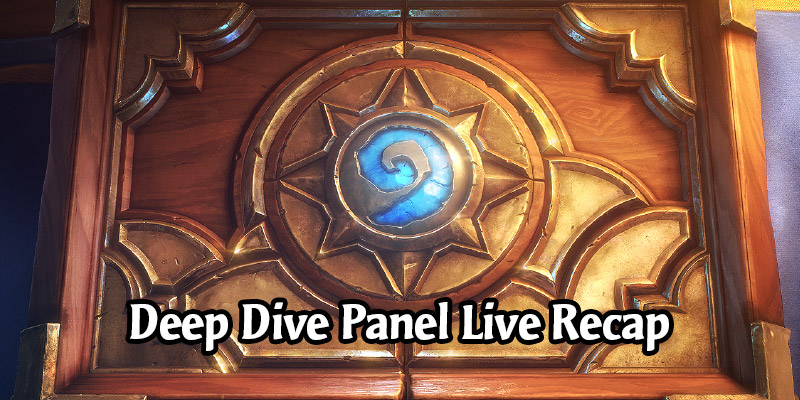 BlizzConline's Hearthstone Year of the Gryphon Deep Dive Panel Live Recap - More New Cards