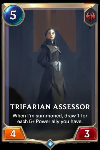 Trifarian Assessor Card Image