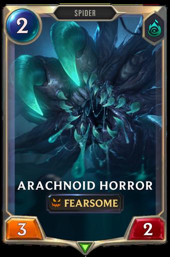 Arachnoid Horror Card Image