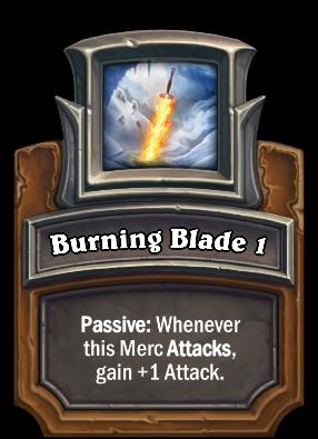 Burning Blade 1 Card Image