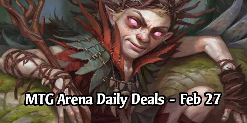 Daily Store Deals in MTG Arena for February 27, 2020 - 25% Off Rankle Master of Pranks & More!