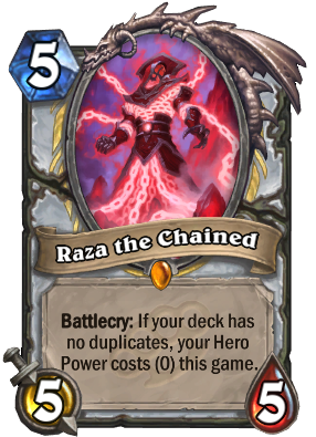 Raza the Chained Card Image