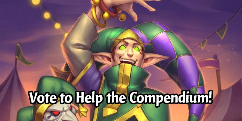 Vote on Cards to Help Us Make a Better Darkmoon Faire Community Compendium