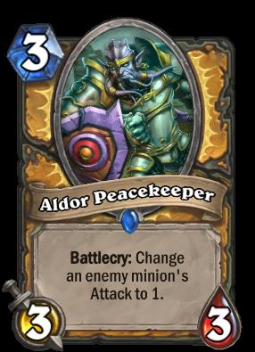 Aldor Peacekeeper Card Image