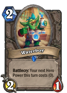 Waterboy Card Image