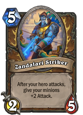 Zandalari Striker Card Image