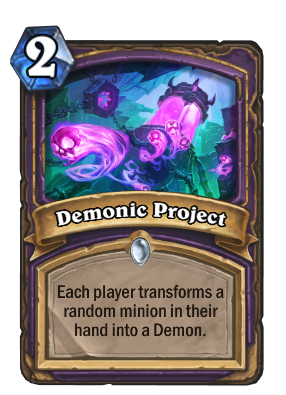 Demonic Project Card Image