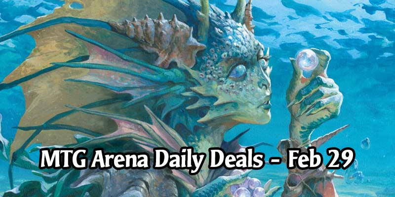 Daily Store Deals in MTG Arena for February 29, 2020 - 90% Off Thassa's Oracle Card Style & More!