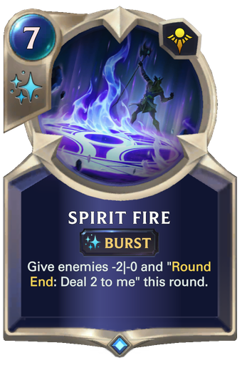 Spirit Fire Card Image