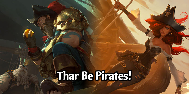 "Arrr! Celebrate ""Talk Like a Pirate"" Day with These 3 Runeterra Pirate-Theme Decks"