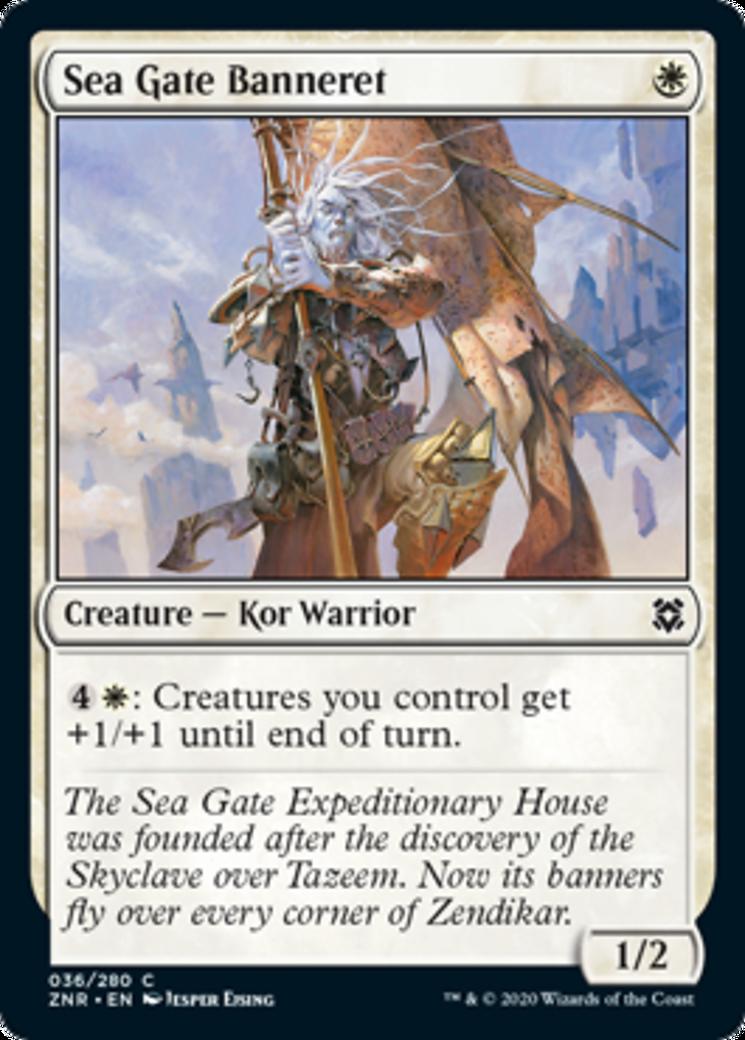 Sea Gate Banneret Card Image