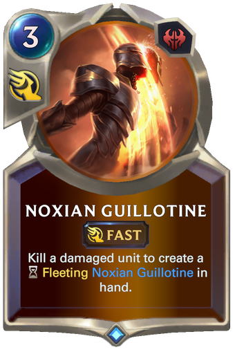 Noxian Guillotine Card Image