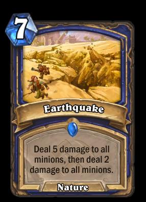 Earthquake Card Image