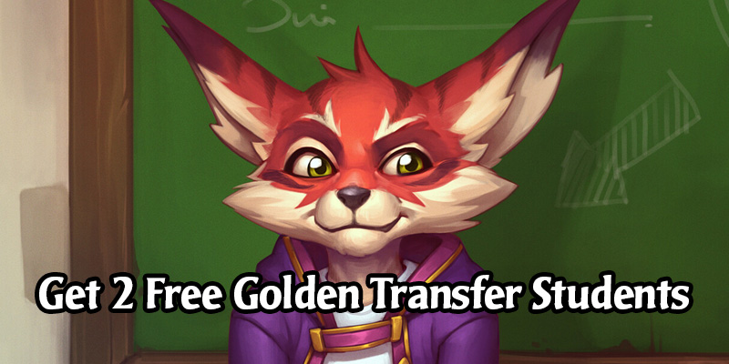 How to Obtain Golden Transfer Student for Free During the Masquerade Ball