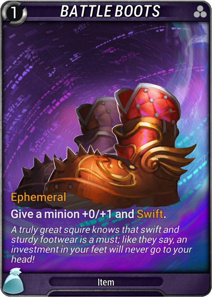 Battle Boots Card Image