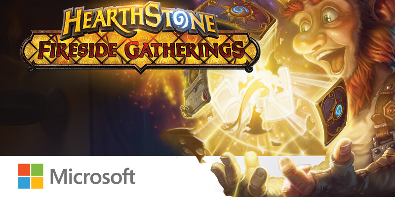 [US/CAN] Hearthstone and Microsoft Team Up to Bring Fireside Gatherings to the Microsoft Store