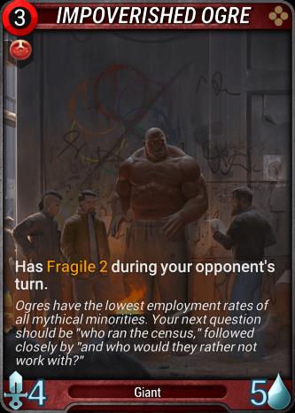 Impoverished Ogre Card Image