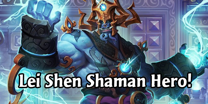 Support Hearthstone Masters Esports, Get a New Shaman Hero, Card Back, and Packs