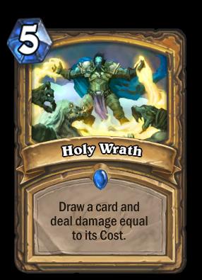 Holy Wrath Card Image